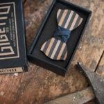 papillon legno Gigetto accessori moda
