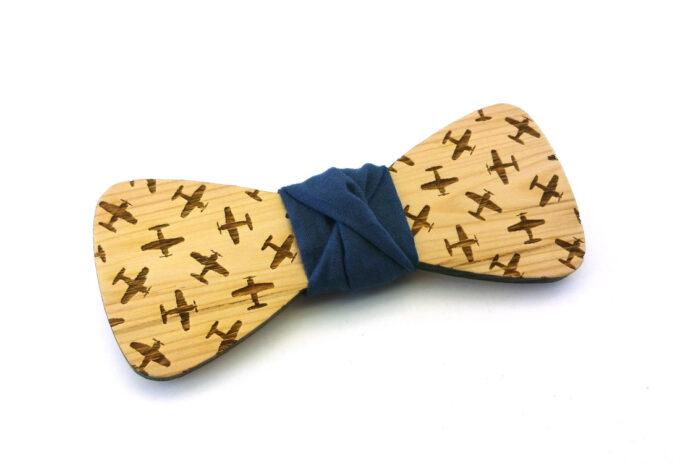 papillon in legno aeroplani navy gigetto