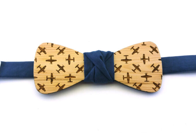 papillon in legno aeroplani navy gigetto2