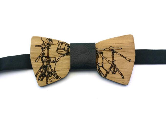 papillon in legno batteria nero gigetto