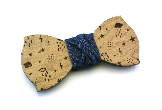 papillon legno jeans meteo gigetto