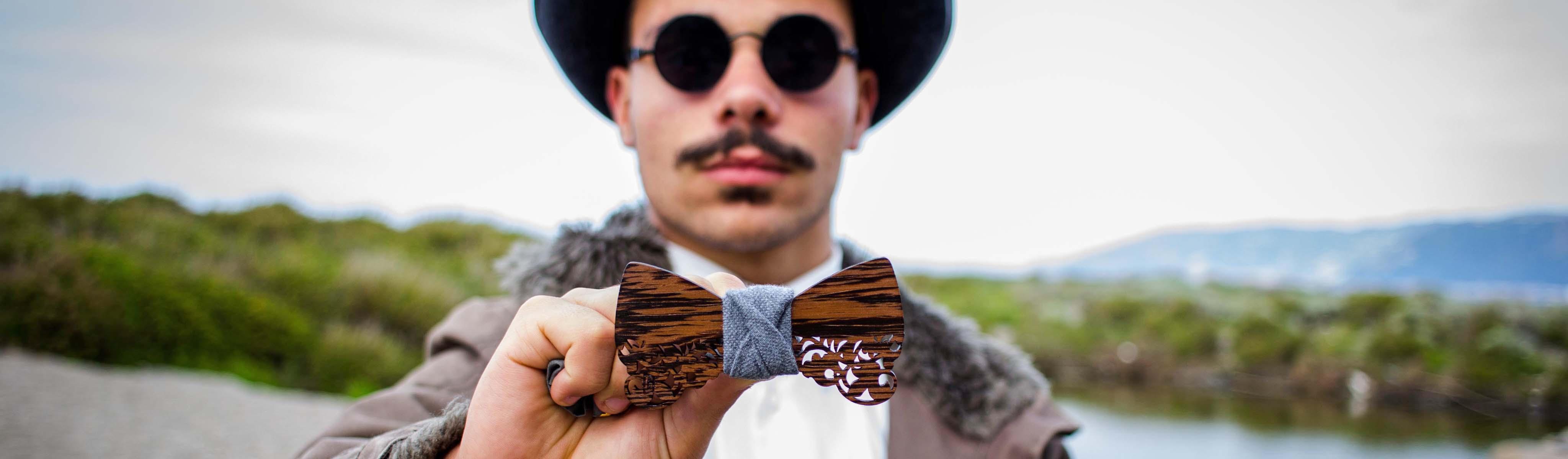papillon legno barocco wenge gigetto