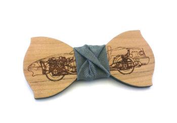 papillon legno auto macchina Gigetto