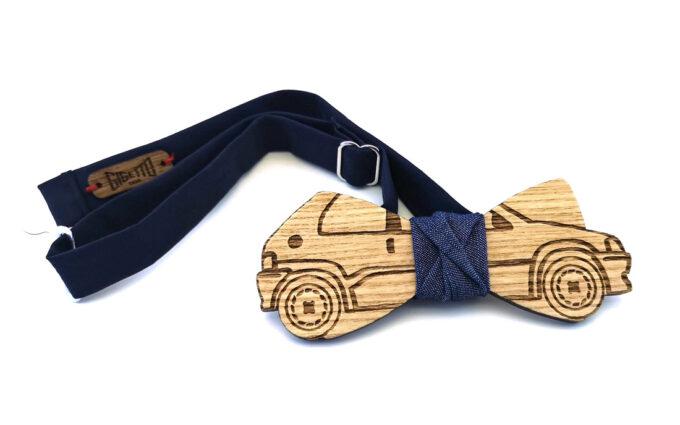 farfallino papillon legno peugeot 106 jeans Gigetto