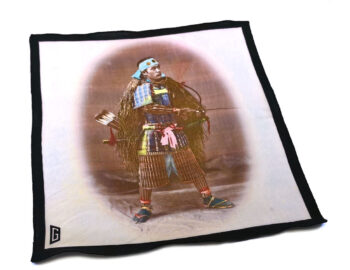 fazzoletto taschino pochette Gigetto guerriero samurai