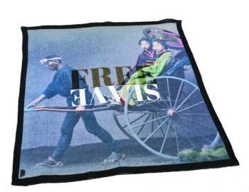fazzoletto taschino pochette Gigetto japan free slave riscio (