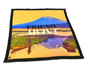 fazzoletto taschino pochette Gigetto japan fuji friend enemy giallo