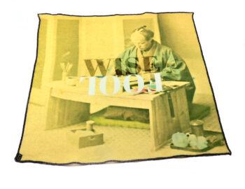 fazzoletto taschino pochette Gigetto japan wise fool pittore giapponese.