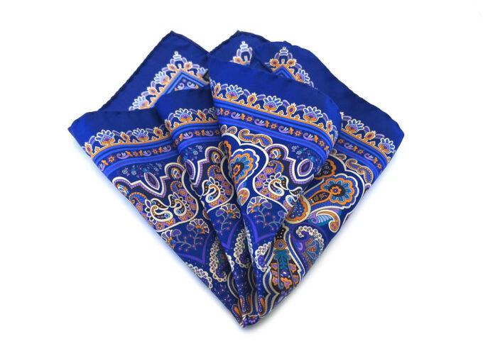 fazzoletto-taschino-seta-pochette-floreale-paisley-blu-fantasia-Gigetto