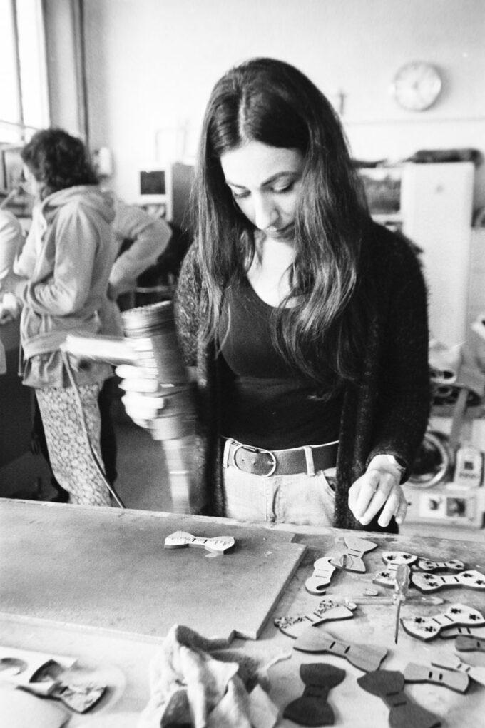 papillon legno gigetto workshop fatto a mano