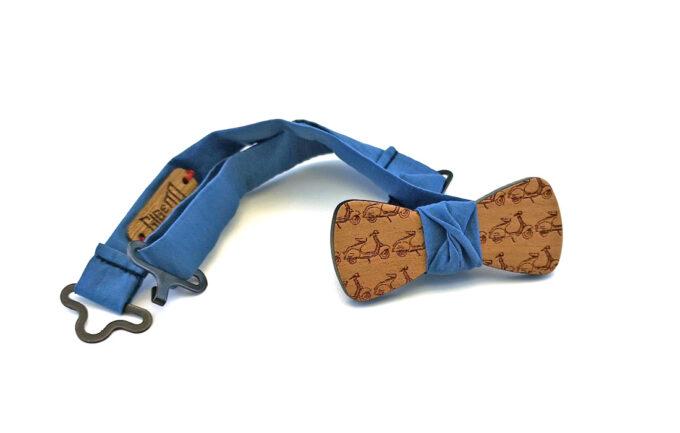 papillno legno ciliegio vespette jeans Gigetto