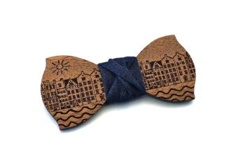 papillon legno case mare sole mogano jeans gigetto