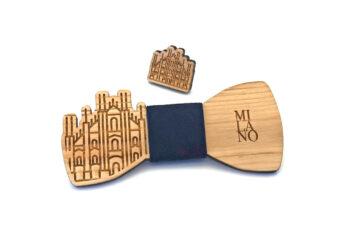 gigetto1910 papillon legno milano spilla blu