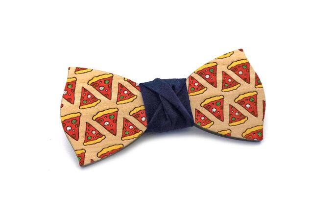 gigetto1910 papillon legno pizza dipinto a mano blu