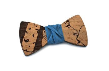 gigetto1910 papillon legno pop chewingum azzurro carta da zucchero